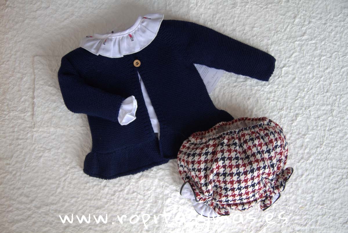 Conjunto bebe niña BRITISH de EVE CHILDREN