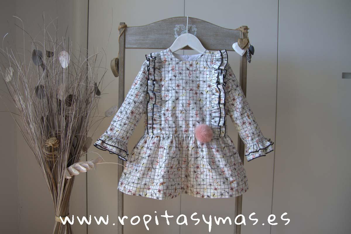 Vestido mariposas OSLO de MAMI MARÍA
