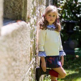 Falda CAMUFLAJE de KIDS CHOCOLATE, invierno 2019