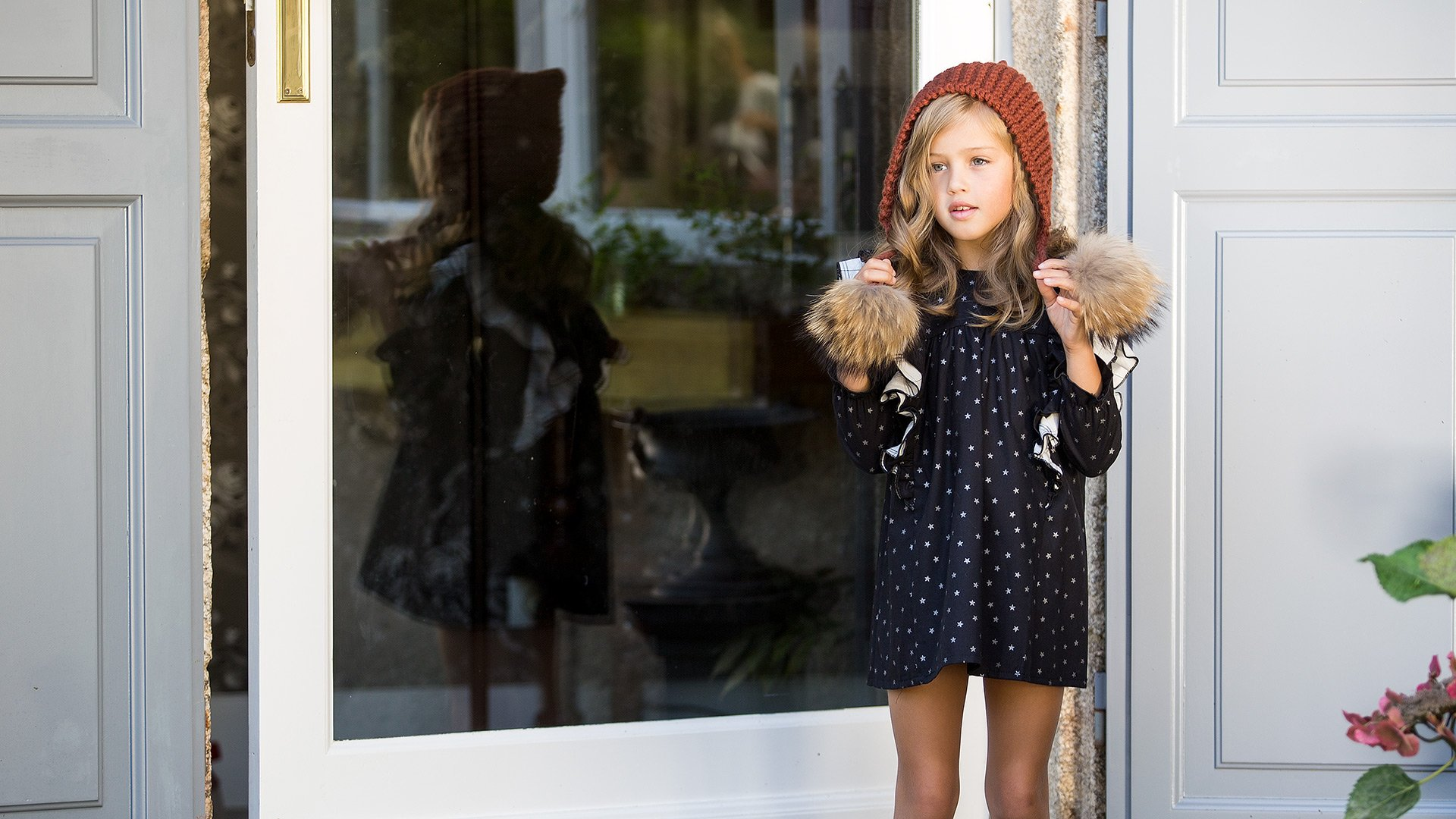 Vestido STARS LUREX de KIDS CHOCOLATE
