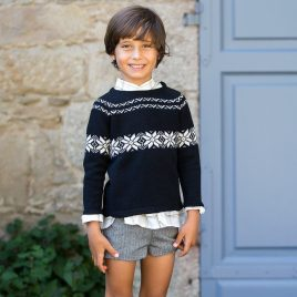 Jersey cenefa LUREX de KIDS CHOCOLATE, invierno 2019