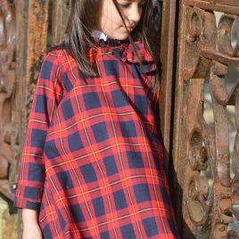 Vestido cuadros GLASGOW de NOMA, invierno 2019