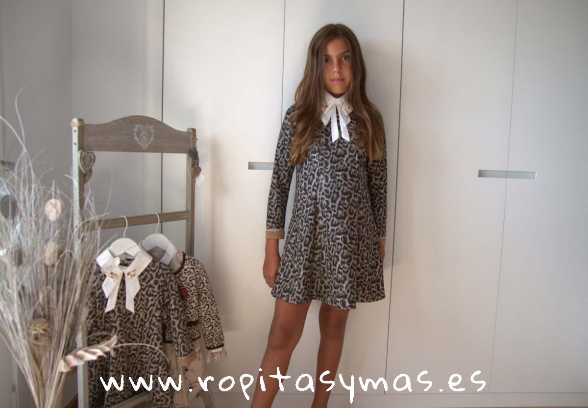 Vestido animal print ASCOT de KAULI
