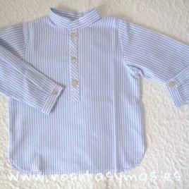 Camisa rayas TARTAN de KIDS CHOCOLATE,  invierno 2019