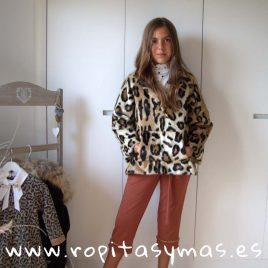 Canguro pelo leopardo de MIA Y LIA, invierno 2019
