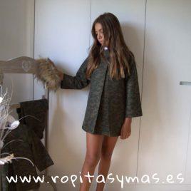 Vestido CAMUFLAJE de MIA Y LIA, invierno 2019