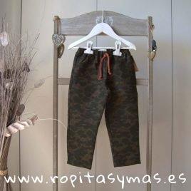 Pantalón unisex camuflaje de MIA Y LIA, invierno 2019