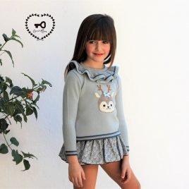 Conjunto braga-falda BUCOLIC de COCCO ROSE, invierno 2019