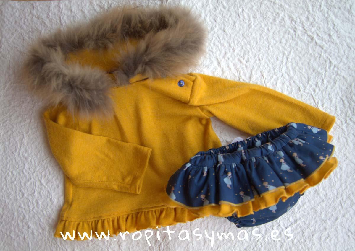 Conjunto sudadera braga-falda MADONA de LA PEPPA