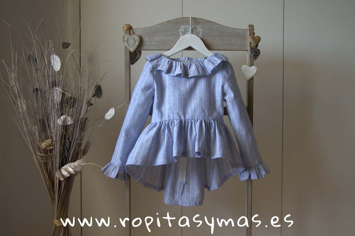 Blusa azul celeste GEA de QUERIDA PHILIPPA