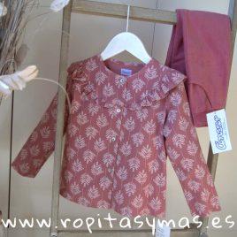 Blusa collar marsala ARBOLES de ANCAR, invierno 2019