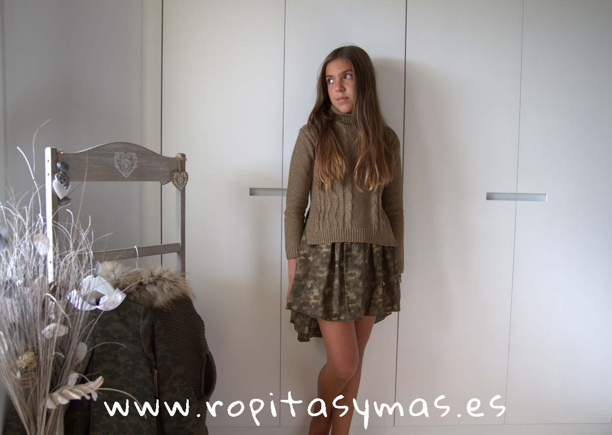 Conjunto falda JASPE de BELLA BIMBA