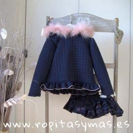 Conjunto sudadera braga-falda CAMUFLAJE de LA PEPPA, invierno 2019
