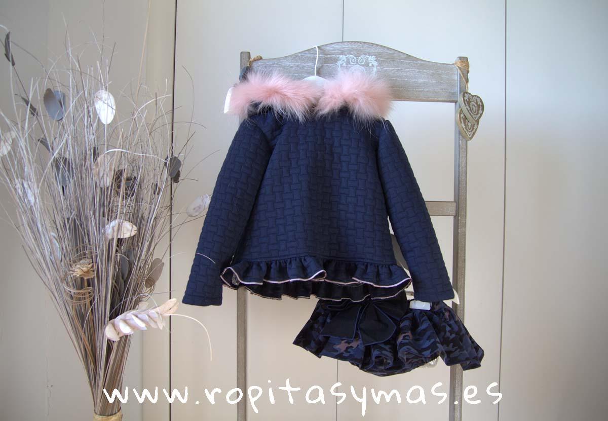 Conjunto sudadera braga-falda CAMUFLAJE de LA PEPPA