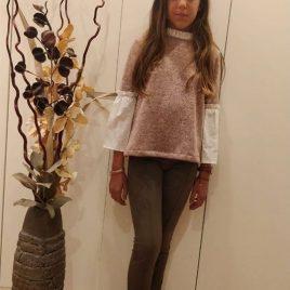 Jersey rosa SAFARI de MAMI MARIA, invierno 2019