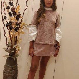 Falda rosa KENIA de MAMI MARIA, invierno 2019