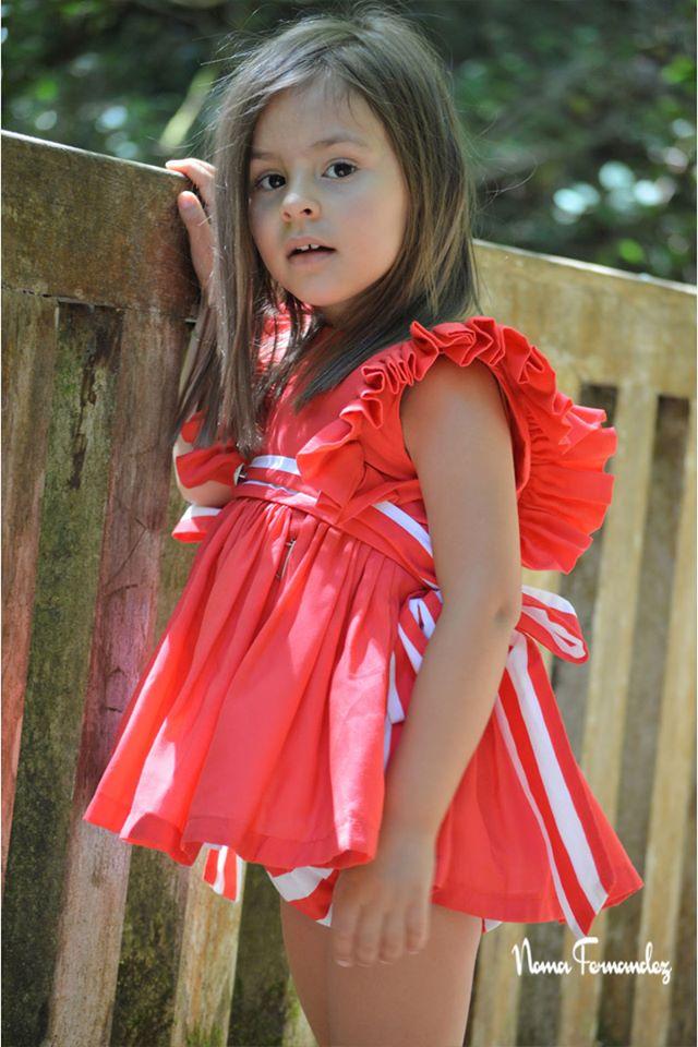 Vestido rojo VENECIA de NOMA