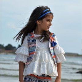 Conjunto short chanel y blusa blanca LENCERA de NOMA, verano 2020