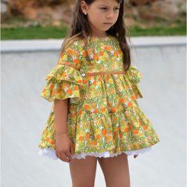 Vestido amarillo CAMPIÑA de NOMA, verano 2020