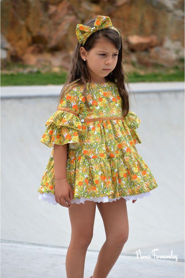 Vestido amarillo CAMPIÑA de NOMA