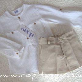 Pantalón muy corto lino ARENA de ANCAR, verano 2020
