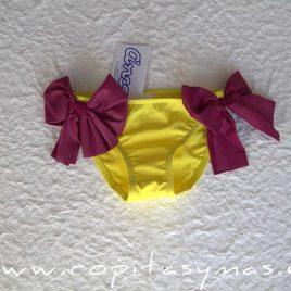 Culetín amarillo ARLEQUIN de ancar, verano 2020