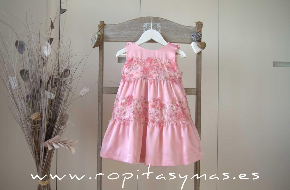 Vestido rosa ARCOIRIS YOUNG&CHIC de KAULI