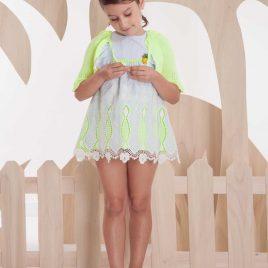 Vestido mil rayas FLUOR de KAULI, verano 2020