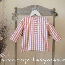 Camisa cuadros rosas de MIA Y LIA, verano 2020
