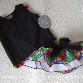 Braguita multicolor LOROS de MON PETIT BONBON, verano 2020