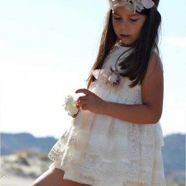 Vestido tul bordado CEREMONIA de NOMA, verano 2020