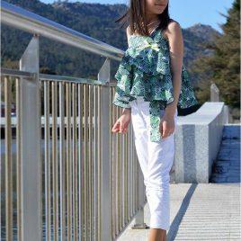 Conjunto pantalón verde LIMA de NOMA, verano 2020