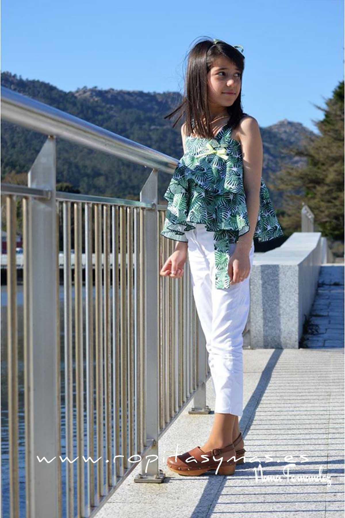 Conjunto pantalón verde LIMA de NOMA