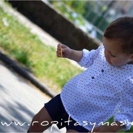 Conjunto niño short NAVY de NOMA,verano 2020