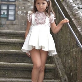 Conjunto falda blanca LOIRA de NOMA, verano 2020