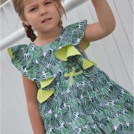 Vestido verde LIMA de NOMA, verano 2020