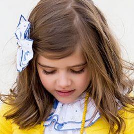 Lazo BALLENAS niña de KIDS CHOCOLATE, verano 2020