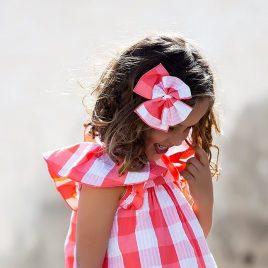 Lazo CUADROTES niña de KIDS CHOCOLATE, verano 2020