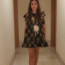 Vestido faralae MANTRA de BELLA BIMBA, verano 2020