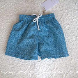 Bañador geométrico azul CIPRES de EVE CHILDREN, Verano 2020