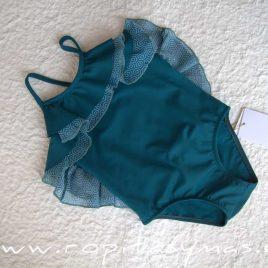 Bañador niña geométrico azul CIPRES de EVE CHILDREN, verano 2020
