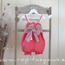 Mono corto rosa CORALE de EVE CHILDREN, verano 2020