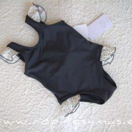Bañador niña gris estrellas TITANIUM de EVE CHILDREN, verano 2020