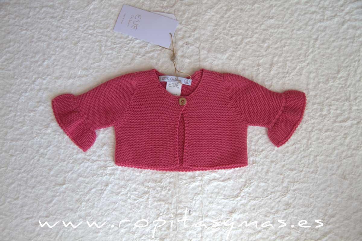 Chaqueta rosa fuerte CORALE de EVE CHILDREN