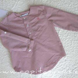 Camisa mao cuadros rosa CORALE de EVE CHILDREN, verano 2020