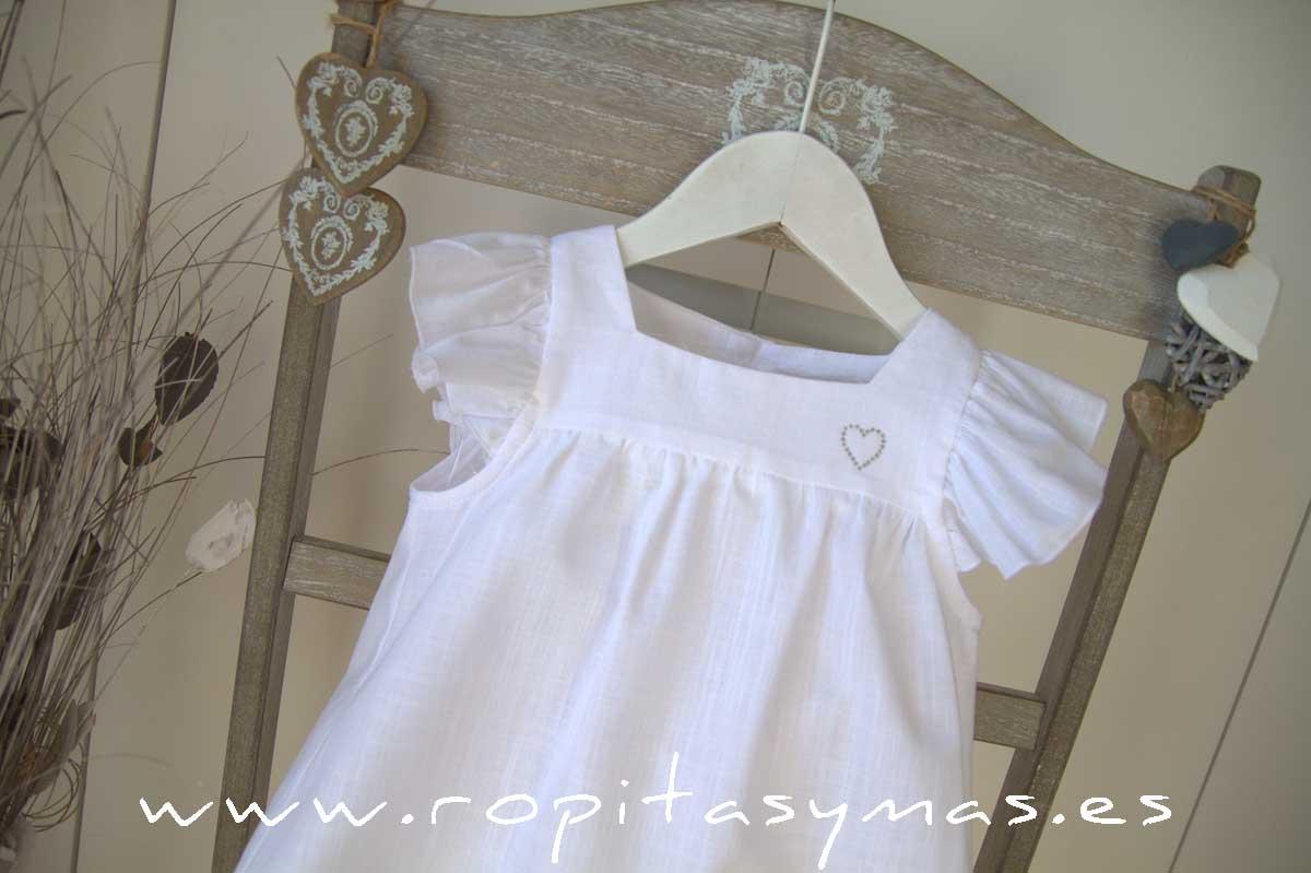 Blusa blanca PROVENZA de MAMI MARÍA