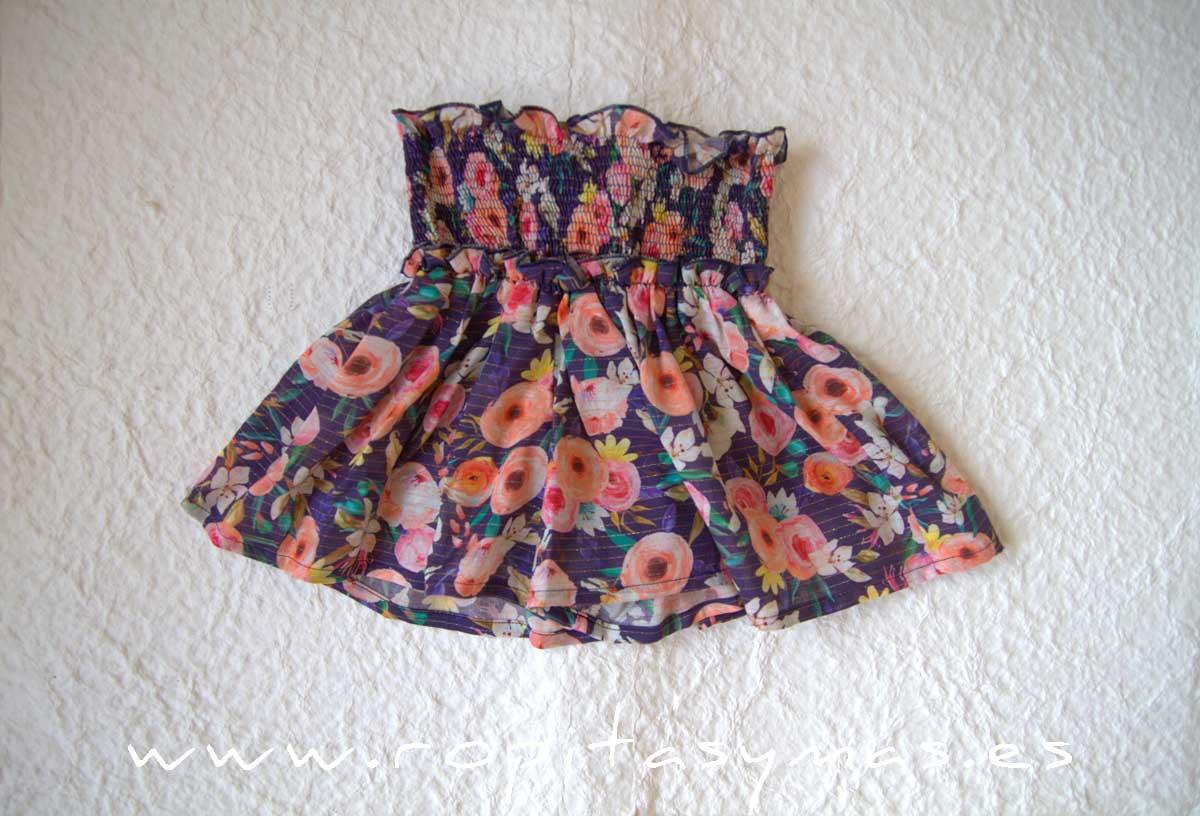 Short floral multicolor de MIA Y LIA