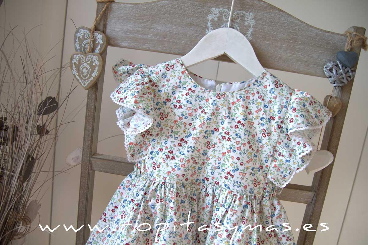 Vestido floral multicolor MIA Y LIA