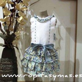 Vestido Baja costura floral Verano 2015