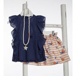 Collar STARS NACAR de KIDS CHOCOLATE, verano 2020